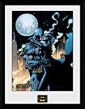 GB Eye Affiche encadrée Batman Comic Moonlit Kiss 40,6x 30,5cm