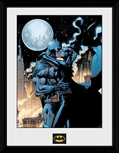 gb-eye-ltd-batman-comic-moonlit-kiss-fotografa-enmarcada-40-x-30-cm