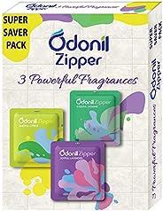 Odonil Bathroom Air Freshener Zipper Mix -30gm (10gm*3)