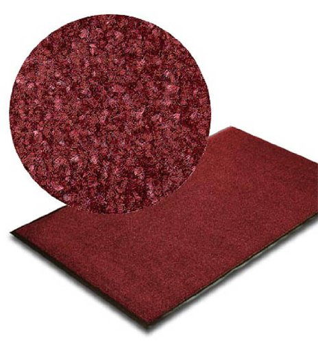 Floordirekt XL - Bicolor Profi-Schmutzfangmatte - 3 Größen - 200x200cm - rot