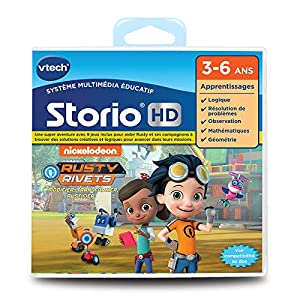 VTech - HD Storio Rusty Remaches Juego interactiva, 271305
