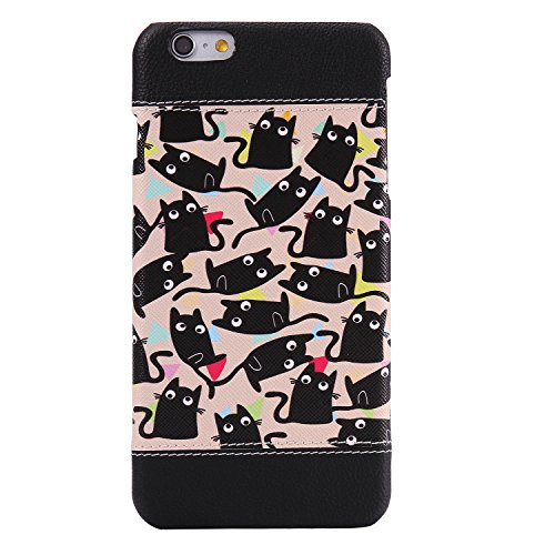 iPhone 6 Plus Coque,iPhone 6s Plus Case,iPhone 6 Plus Cover - Felfy Super Slim Mince PC Plastic Case Motif de Couleur Design Coque Housse de Protection Etui Anti Scratch Antichoc Case Cover Case Bumpe Minou
