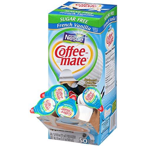 SF French Vanilla Creamer, .375 oz., 50 Creamers/Box, Sold as