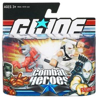 Hasbro - Figurine GI JOE combat heroes Barbecue & storm shadow