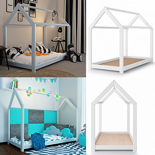 Vicco Kinderbett Kinderhaus Jugendbett Kinder Bett Holz Haus