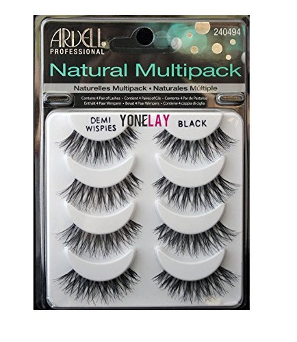 Ardell Wimpern 4 Paar Demi Wispies Black Multipack