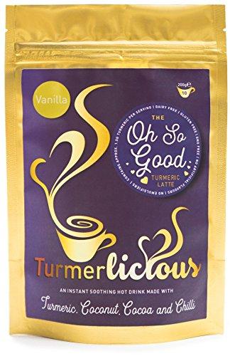 Turmerlicious Turmeric Latte Vanilla 200g Packet – Dairy Free