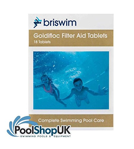 Goldifloc Swimming Pool Clarifier/Sparkle Tablets Box of 18