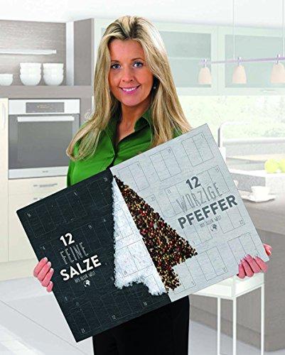 XL Salz und Pfeffer Gourmet Adventskalender – mit 24 Salz und Pfeffer Raritäten aus aller Welt - 4