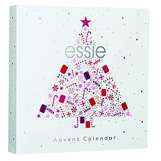 Essie – Calendario de Adviento, Incluye 18 Productos de Manicura y 6 Regalos Sorpresa