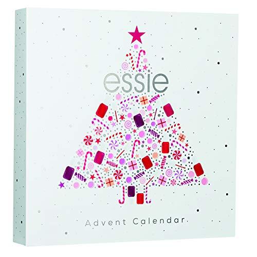 Essie Collezione in Edizione Limitata Idea Regalo Calendario Dell'Avvento, 24 Sorprese Firmate Essie, Risultato Professionale
