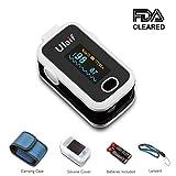Ulaif Oxímetro Pulsioximetro de Pulso de Dedo Monitor de Saturación de Oxígeno en - Best Reviews Guide
