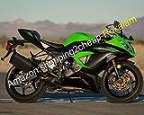 Hot Sales, Fashion Verkleidung für Kawasaki Ninja 636 ZX6R ZX-6R 2013 2014 2015 ZX 6R grün schwarz ABS Motorrad Verkleidung (Spritzguss)