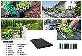 GardenFlora–Tessuto non tessuto come ghiaia base O per suolo 20m x 1,5m = 30m², spessore: 60G/M² immagine