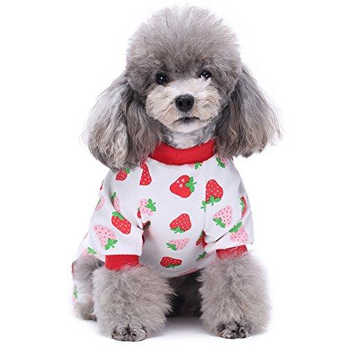 Hundepyjamas Cartoon-Hundekleid Hundeoverall-Haustier-Kleidung Pyjamas von Bornbayb