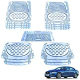 Kozdiko-PVC,-Rubber-Heavy-Duty-Mats-6605-Clear-Set-of-5-Pcs-For-Jaguar-XE