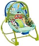 Asalvo Evolutiva - Hamaca para bebé, diseño Granja, color verde y...