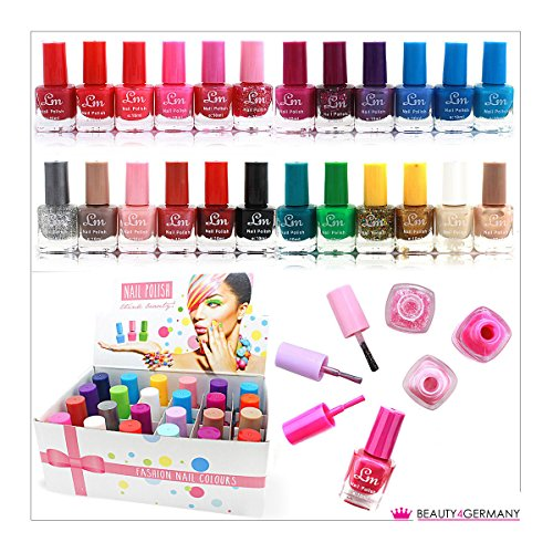 24 x NAIL POLISH VARNISH (SET B) 24 DIFFERENT