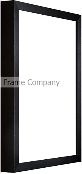frame company 24 x 16 inch wooden picture photo frame black