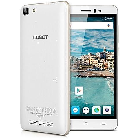 Cubot Rainbow - Smartphone móvil libre 16GB Android 6.0 (Pantalla 5.0
