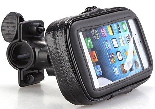Wasserfeste Handy Fahrrad Motorrad Halterung Tasche Outdoor Navi Halter Smartphone Tasche Case Gr. L 148x83 mm Fahrradtasche