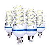 Lampadina LED E27 20 W (150 W Equivalen lampada LED), Luce Bianca Calda 3200K, 360 Gradi Angolo del Fascio, Non Dimmerabile, 1700LM LED a Risparmio Energetico Mais Lampadina - Confezione da 4 (3200K)