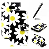 Coque Housse Etui pour Wiko Barry, Wiko Barry Cuir Portefeuille Coque Cases...