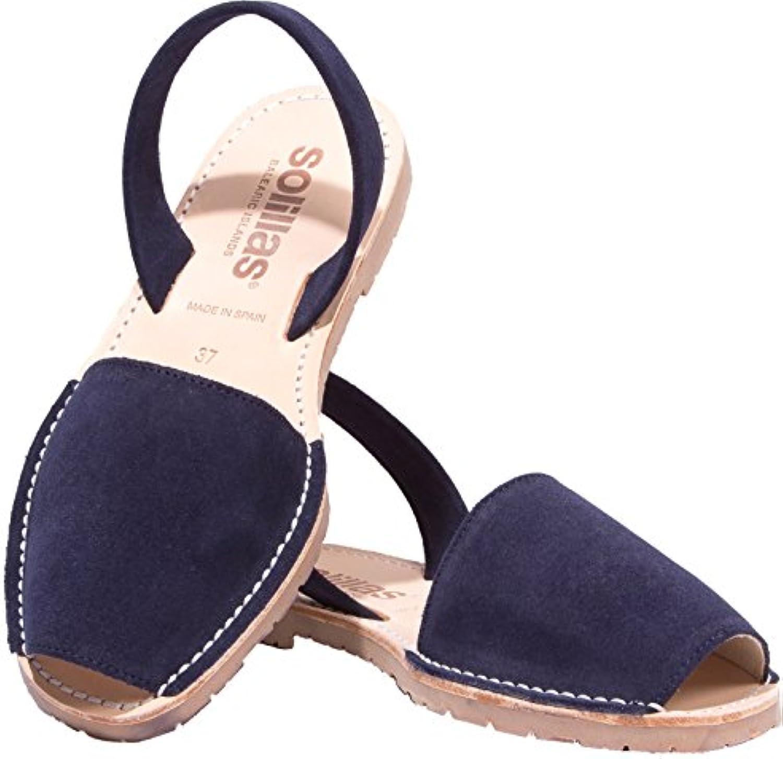 8283f158c90a Solillas Women s Women s Women s Original Menorcan Sandals Leather  B07DRJW8F5 Parent 0ed16f
