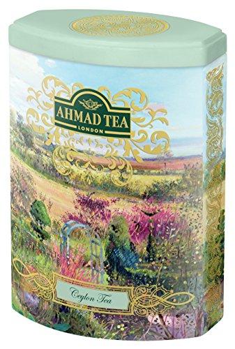 Ahmad Tea – Fine Tea Collection – Ceylon Tea | Schwarzer Tee | 100 g loser Tee in schöner Dose