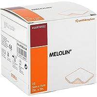 Melolin 5x5cm Wundauflagen steril 25 stk preisvergleich bei billige-tabletten.eu