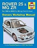 Rover 25 & MG ZR Petrol & Diesel (Oct 99 - 06) Haynes Repair Manual