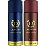 Denver Deo Combo, Pride and Honour, 165ml (Pack of 2)