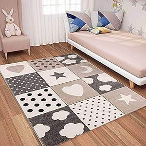 Kinderzimmerteppich Beige günstig online kaufen   Dein Möbelhaus