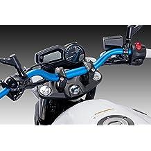 PUIG - 6461A : Manillar moto universal conico 22-29mm h.61mm