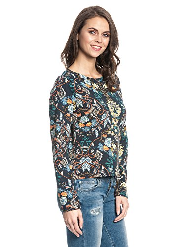 Vive Maria Damen Blooming Boheme Sweatshirt Mehrfarbig (Black Allover)