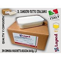 """CANDITO PER API """"LAPED"""" alimento superiore in pasta per apicoltura da Kg. 1,5 prodotto in Italia"""