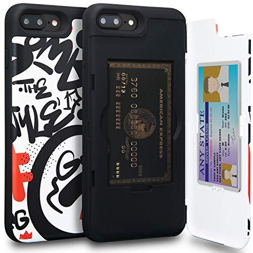 Funda  TORU CX PRO para Apple iPhone 8 Plus (2017) / iPhone 7 Plus (2016)     COLORIDO   - Viene en varios colores hermosos  - Haga coincidir su estuche con su teléfono o equipo    SUPER CONVENIENCE   - Oculte hasta 3 tarjetas  - Revise su cabello co...