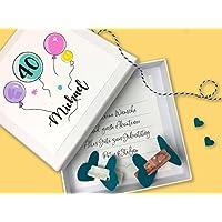 Geldgeschenk zum Geburtstag Luftballons