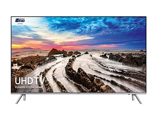 Samsung UE49MU7000 Smart TV LED Ultra HD 4K, 49'', WiFi, 3840 x 2160 Pixels, Grigio