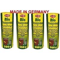 4x Breaco Biotonnenpulver je 500g Madenkiller / Biokomposter / Komposterpulver