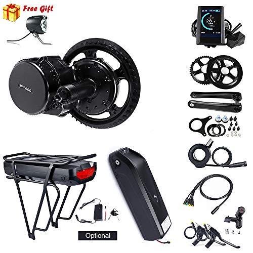 Bafang Elektro Fahrrad Umbausatz Fahrrad Motor Kit BBS02B Mid Drive 750W Elektromotor für Fahrrad