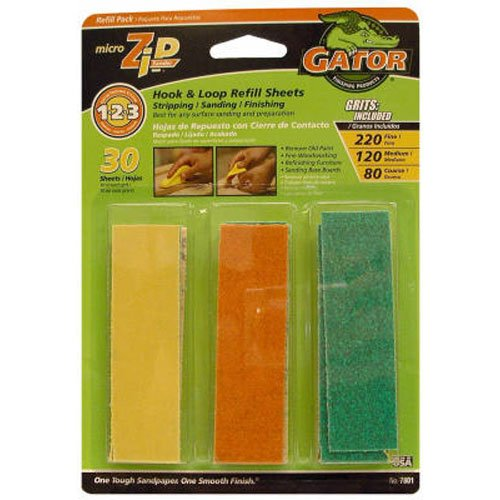 ali-industries-30-pack-micro-zip-sander-refill-hook-loop-sheets