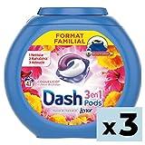 Dash 3 en 1 Pods Coquelicot Lessive en Capsules Lot de 3 - 141 lavages
