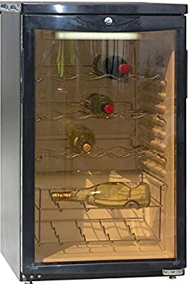 Blizzard WINE105 Wine Cooler, Black from Blizzard