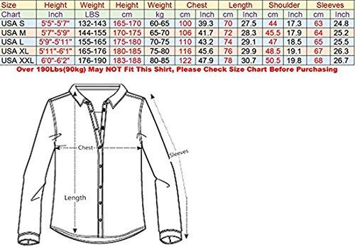 jeansian Herren Freizeit Hemden Shirt Tops Mode Langarmshirts Slim Fit 8312 Z008_09_Winered