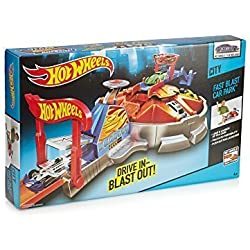 Hot Wheels Fast Blast Car Park by Hot Wheels