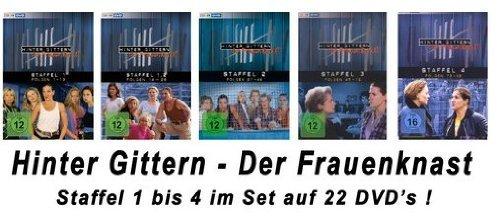 Hinter Gittern - Der Frauenknast Staffel 1-4 im Set [22DVDs] -