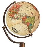 Nova Rico 50cm Emily Boden Ständer Antik Globe (braun)