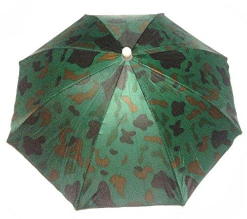 Primi Creative elástica patrón de camuflaje diadema Sun lluvia parag