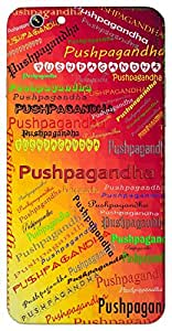 Pushpagandha (juhi flower) Name & Sign Printed All over customize & Personalized!! Protective back cover for your Smart Phone : Samsung Galaxy ON-7